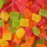 Папая-кубики 4-х цветные 3-5, 8-10 мм