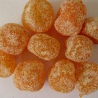 Мандарины сушеные (кумкват в сахаре)